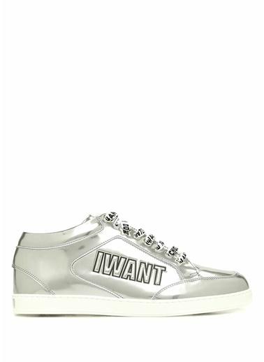 Jimmy Choo Sneakers Gümüş